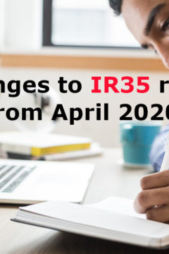 Changes to IR35 rules from April 2020