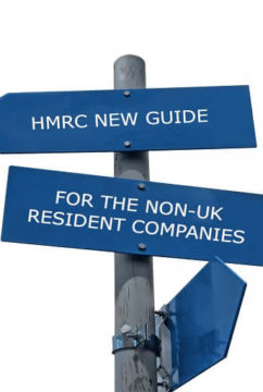HMRC new guide for the non-UK resident companies
